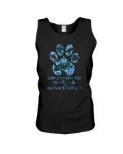 EASILY DISTRACTED BY DOGS AND TURTLES Unisex Tank thumbnail