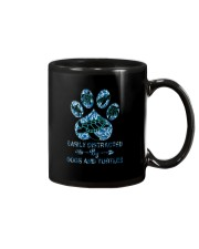 EASILY DISTRACTED BY DOGS AND TURTLES Mug thumbnail