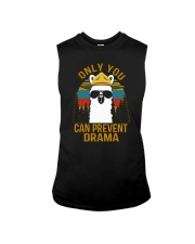 ONLY YOU CAN PREVENT DRAMA Sleeveless Tee thumbnail