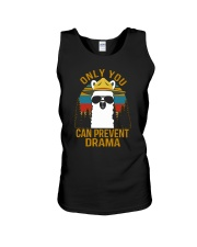 ONLY YOU CAN PREVENT DRAMA Unisex Tank thumbnail