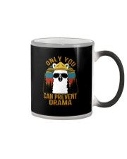 ONLY YOU CAN PREVENT DRAMA Color Changing Mug thumbnail