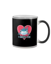 I CHEW YOU Color Changing Mug thumbnail