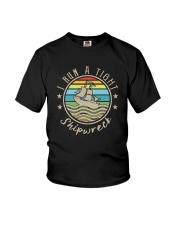 I RUN A TIHGT SHIPWRECK Youth T-Shirt thumbnail