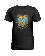 I RUN A TIHGT SHIPWRECK Ladies T-Shirt thumbnail
