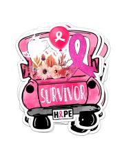 SURVIVOR HOPE Sticker - 4 pack (Vertical) front