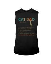 CAT DAD noun Sleeveless Tee thumbnail