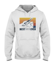 BEST GUITAR DAD EVER VINTAGE Hooded Sweatshirt thumbnail