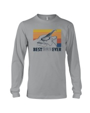 BEST GUITAR DAD EVER VINTAGE Long Sleeve Tee thumbnail