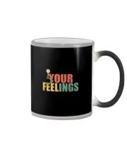 FUCK YOUR FEELINGS VINTAGE Color Changing Mug thumbnail