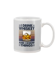 I DRINK WHISKEY AND I KNOW THINGS Mug thumbnail