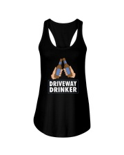 DRIVEAWAY DRINKER Ladies Flowy Tank tile