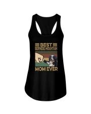 BEST Bernese Mountain MOM EVER s Ladies Flowy Tank thumbnail