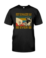 BEST SCHNAUZER DAD EVER Classic T-Shirt thumbnail