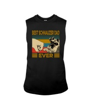 BEST SCHNAUZER DAD EVER Sleeveless Tee thumbnail