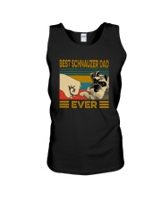 BEST SCHNAUZER DAD EVER Unisex Tank thumbnail
