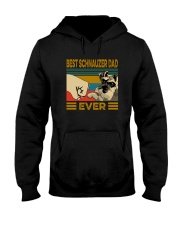 BEST SCHNAUZER DAD EVER Hooded Sweatshirt thumbnail
