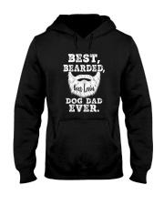 BEST BEARDED BEER LOVIN' DOG DAD EVER Hooded Sweatshirt thumbnail