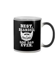 BEST BEARDED BEER LOVIN' DOG DAD EVER Color Changing Mug thumbnail