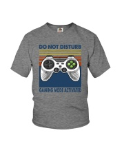 DO NOT DISTURB GAMING MODE ACTIVATED Youth T-Shirt thumbnail