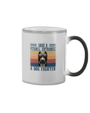 SAVE A PITBULL EUTHANIZE Color Changing Mug thumbnail