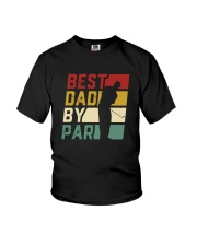 BEST DAD BY PAR Youth T-Shirt thumbnail
