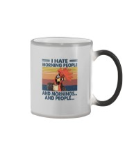 I HATE MORNING PEOPLE CHICKEN Color Changing Mug thumbnail