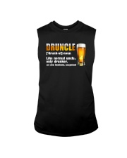 DRUNLCE LIKE NORMAL UNCLE ONLY DRUNKER Sleeveless Tee thumbnail