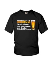 DRUNLCE LIKE NORMAL UNCLE ONLY DRUNKER Youth T-Shirt thumbnail