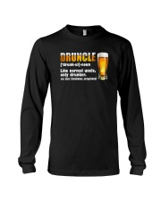 DRUNLCE LIKE NORMAL UNCLE ONLY DRUNKER Long Sleeve Tee thumbnail