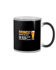 DRUNLCE LIKE NORMAL UNCLE ONLY DRUNKER Color Changing Mug thumbnail