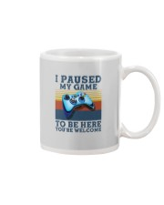 I PAUSED MY GAME TO BE HERE Mug thumbnail