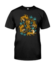 DANCING TIGERS Classic T-Shirt front