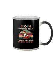 SLOTH RUNNING TEAM Color Changing Mug thumbnail