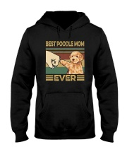 BEST  Poodle MOM EVER Hooded Sweatshirt thumbnail