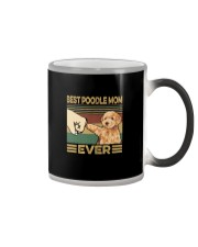 BEST  Poodle MOM EVER Color Changing Mug thumbnail