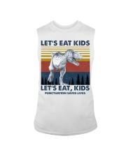 LET'S EAT KIDS DINOSAUR Sleeveless Tee thumbnail