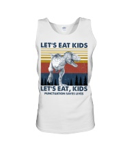 LET'S EAT KIDS DINOSAUR Unisex Tank thumbnail