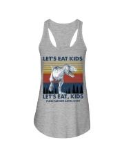 LET'S EAT KIDS DINOSAUR Ladies Flowy Tank thumbnail