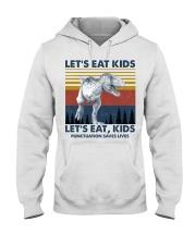 LET'S EAT KIDS DINOSAUR Hooded Sweatshirt thumbnail