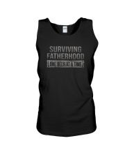 SURVIVING FATHERHOOD ONE BEER AT TIME Unisex Tank thumbnail