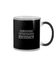 SURVIVING FATHERHOOD ONE BEER AT TIME Color Changing Mug thumbnail