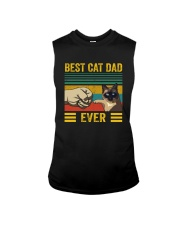 BEST CAT DAD EVER SIAMESE Sleeveless Tee thumbnail