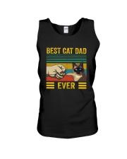 BEST CAT DAD EVER SIAMESE Unisex Tank thumbnail