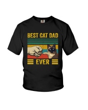 BEST CAT DAD EVER SIAMESE Youth T-Shirt thumbnail
