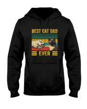 BEST CAT DAD EVER SIAMESE Hooded Sweatshirt thumbnail
