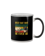 BEST CAT DAD EVER SIAMESE Color Changing Mug thumbnail