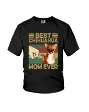BEST Chihuahua MOM EVER s Youth T-Shirt thumbnail