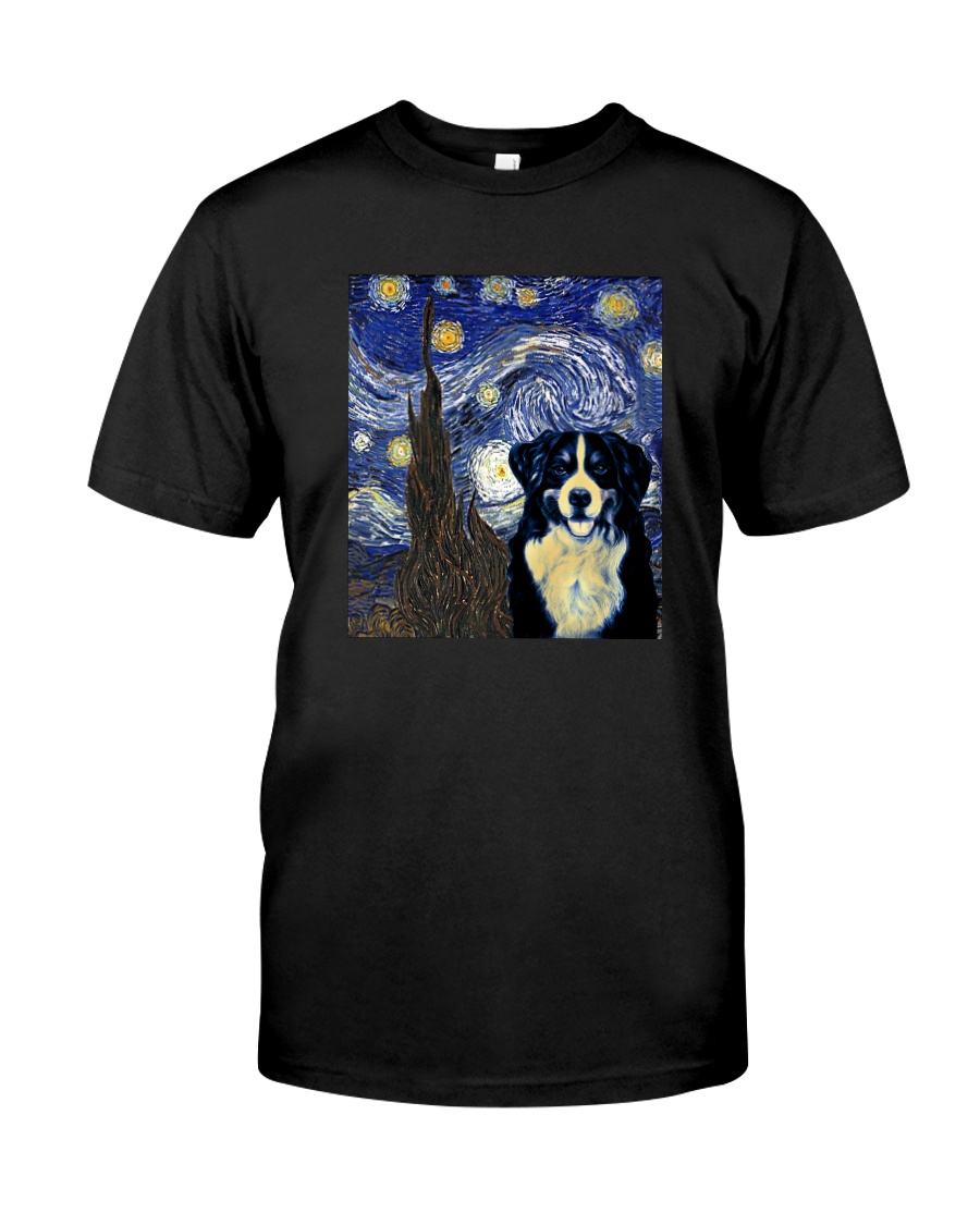 VAN GOGH BERNESE MOUNTAIN DOG Classic T-Shirt