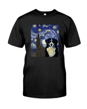 VAN GOGH BERNESE MOUNTAIN DOG Classic T-Shirt front