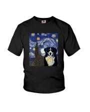 VAN GOGH BERNESE MOUNTAIN DOG Youth T-Shirt thumbnail